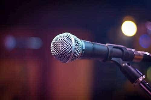 Mikrofon, źródło: pexels