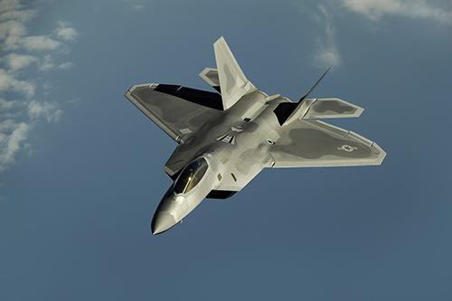 F22 raptor, źródło: pixabay.com