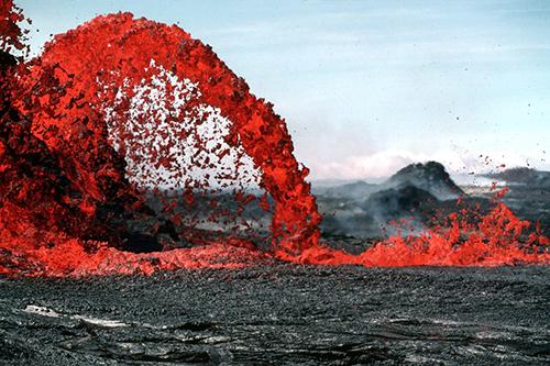 Lawa, magma, wulkan