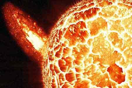 Rozbłysk słoneczny, źródło: pixabay.com