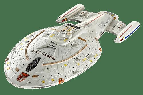 Star Trek Voyager - model statku, źródło: pixabay.com
