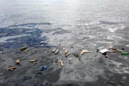 Plastyk w wodzie, źródło: pixabay.com