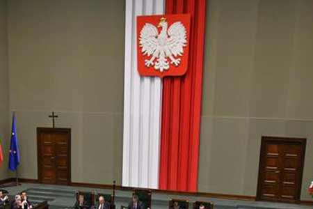 Polskie Godło w Sejmie, źródło: sejm.gov.pl / DLA MEDIÓW