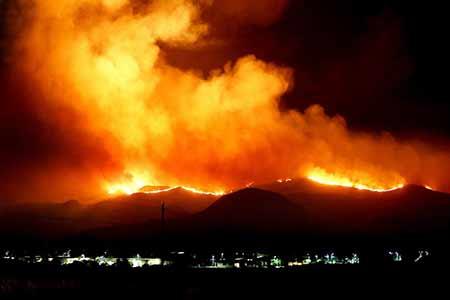 Pożar lasu, Amazonia!