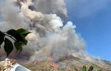 Wybuch Wulkanu Stromboli, Włochy, źródło: Twitter