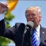 D. Trump podczas jednego ze swoich przemówień, źródło: pixabay.com