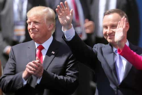 Prezydenci Duda i Trump, zdjęcie: Wiki Commons