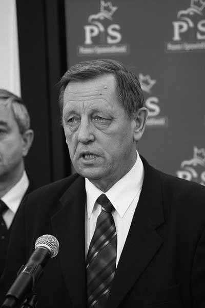 zmarły niedawno prof. Jan Szyszko, zdjęcie: Wiki Commons