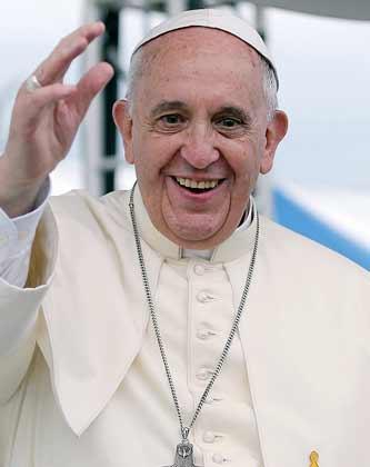 Papież Franciszek, foto: Wiki Commons