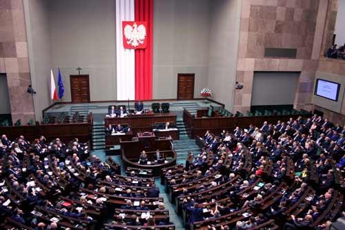 Sala plenarna Sejmu RP, foto: Wiki Commons