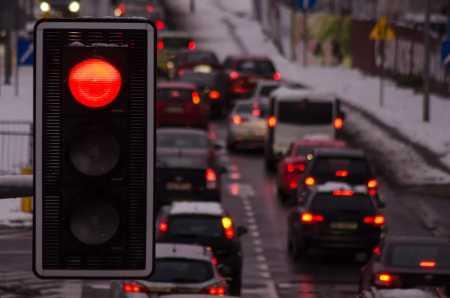 Czerwone światło, sygnalizator, źródło: pixabay.com