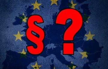 Unia, paragraf, pytajnik - obrazek do artykułu o prawie polskim