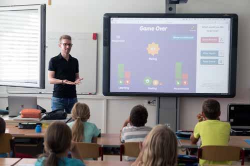 Nauczyciel informatyki w szkole